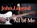 (John Legend) - All of Me - Guitar cover version by Vinai T