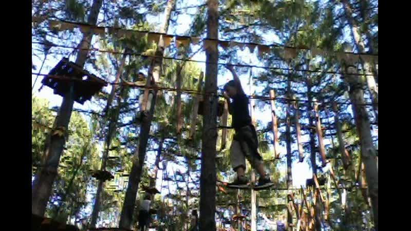 шамиль в веревочном парке1