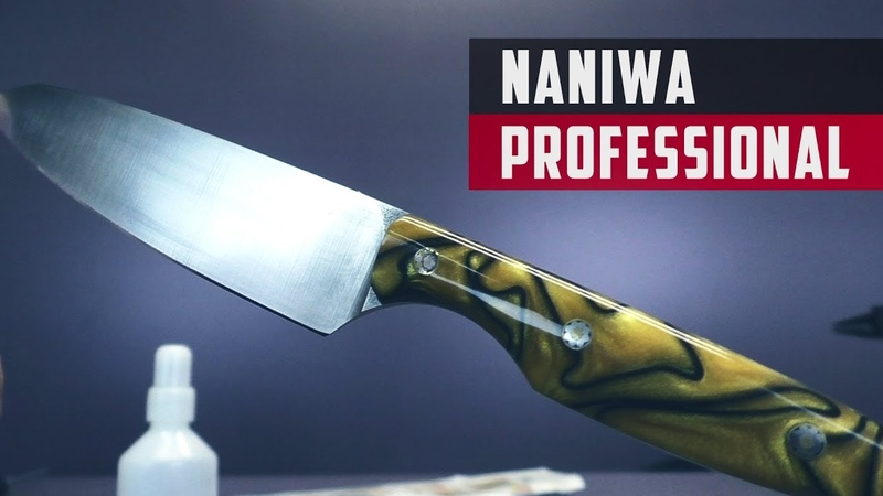 Ножи от Dr Alba Сталь н 690 камни Naniwa 1000 3000 5000 10000