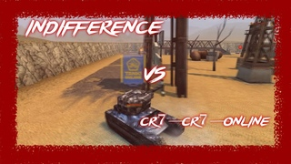 Indifference vs CR7_CR7_online. Funny duel(Zone)/Tanki Online