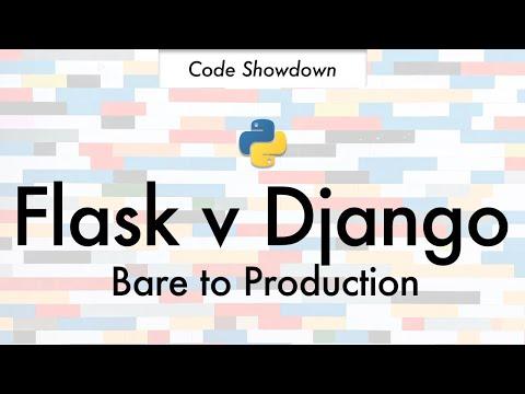 Flask v Django Barebones to Production Python Web Framework Code Showdown Heroku