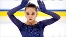 Камила Валиева Короткая программа Девушки Гран при по фигурному катанию среди юниоров 2019 20