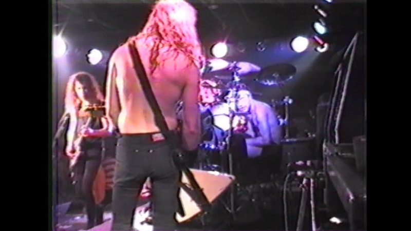 Metallica Live at The Stone Balloon '89 720p60fps Justice Box Set DVD