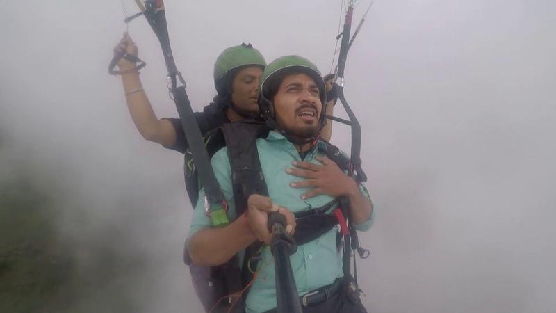 Paragliding in manali 3500 rupay me jindagi ka full maza Adventure in Manali1080p