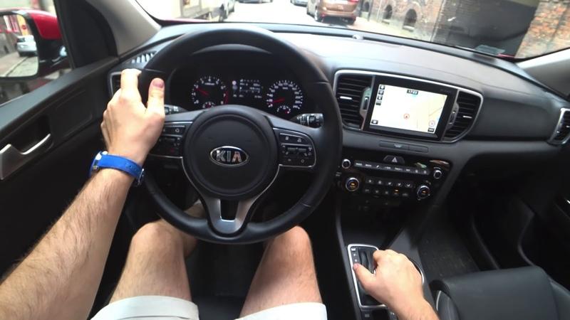 New 2018 Kia Sportage 1 6 T GDI 177 HP 7 DCT HP 2020 Новый Киа Спортэйдж Teст Драйв Обзор