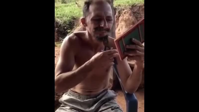 Новый метод бритья