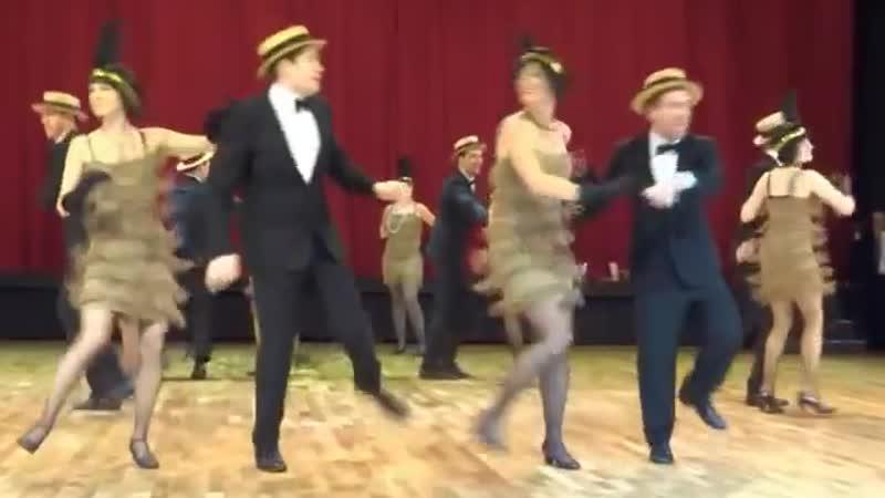 Vintage Club Showgruppe Charleston Routine Shake that thing Hugo Strasser B