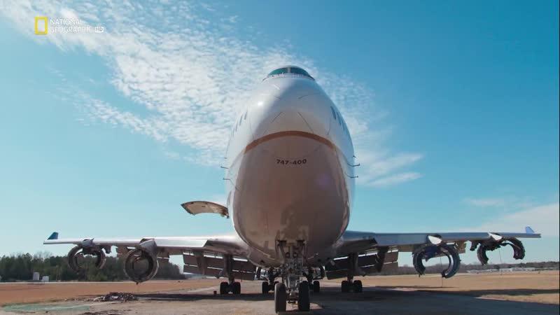 Внутри невероятных машин 01 Джамбо Джет Боинг 747 Познавательный история техника 2018