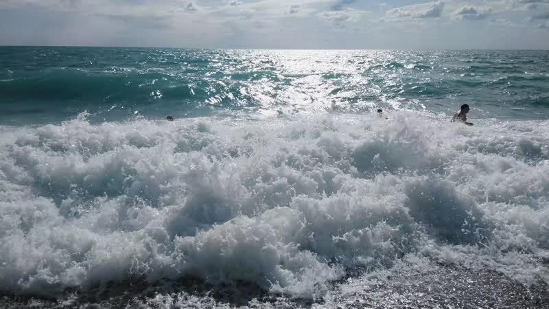 фото море зовет волна уголок