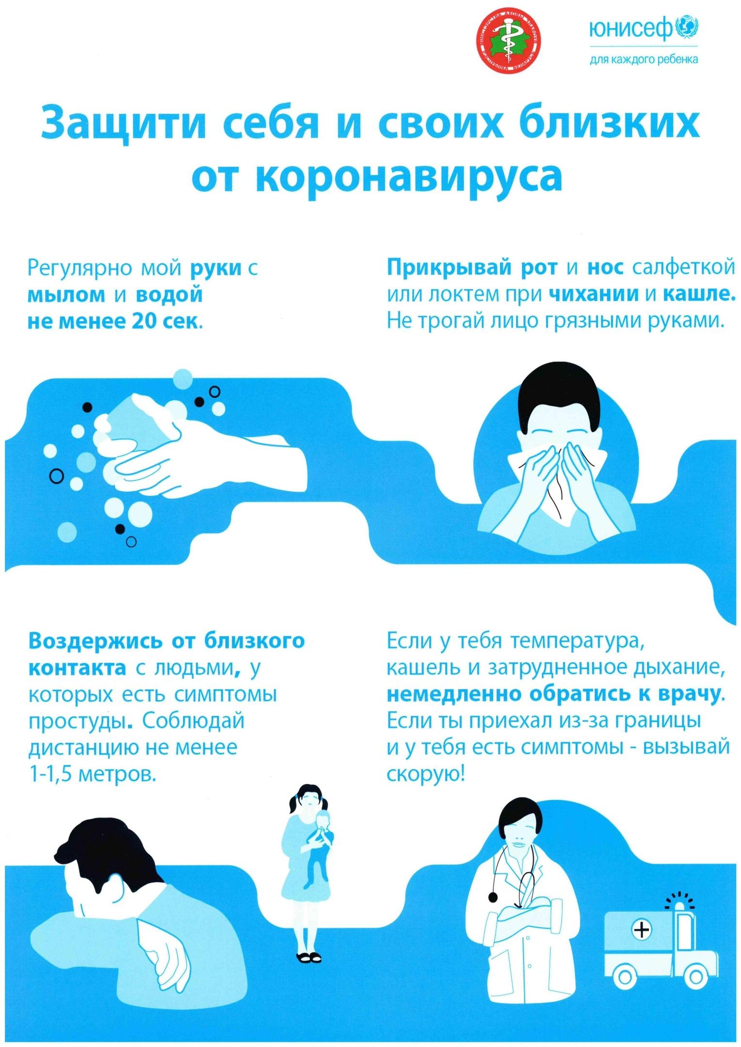 Защити себя и своих близких от коронавируса (+ВИДЕО)