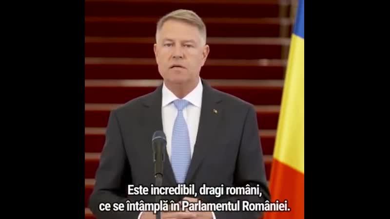 "Klaus Iohannis se catalogheaza drept ""cretin"""