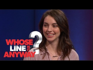 Adelaide Kane Comic Con Song - Whose Line Is It Anyway? US