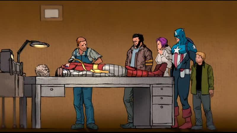 Рыцари Марвел - Росомаха. Оружие Икс - Завтра умрет сегодня - Часть 4 (2014)