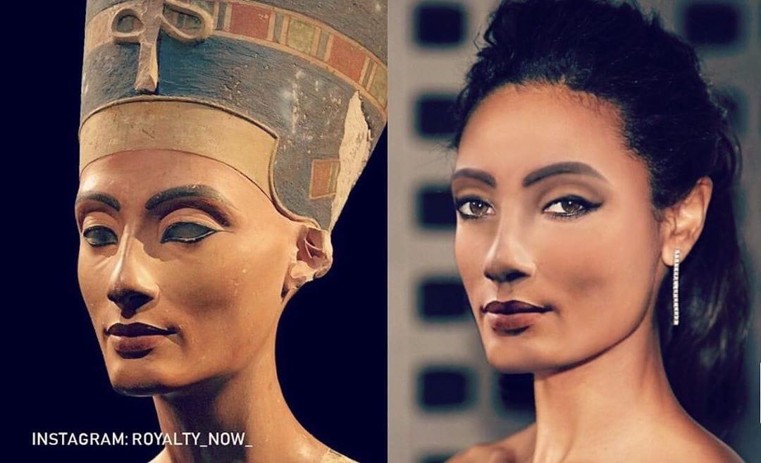Дизайнер показала, как выглядели бы знаменитости прошлого, если бы жили сейчас и следовали современной моде