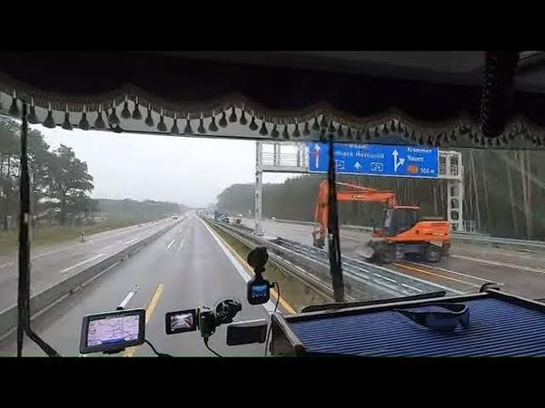 Новый автобан Гамбург Росток 50км