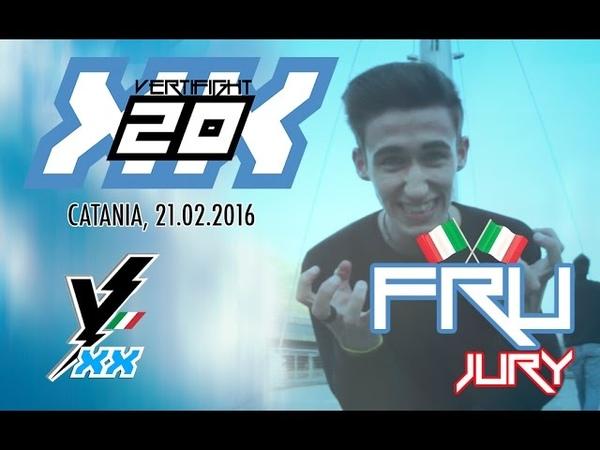 VERTIFIGHT ITALIA 20 | DEMO DU JURY | FRU (Aosta Free Moves)