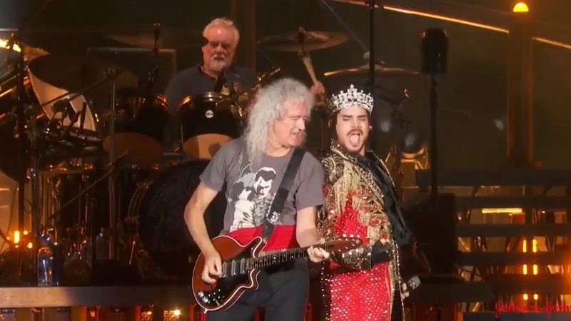 Queen Adam Lambert - We Are The Champions (Live at Global Citizen)