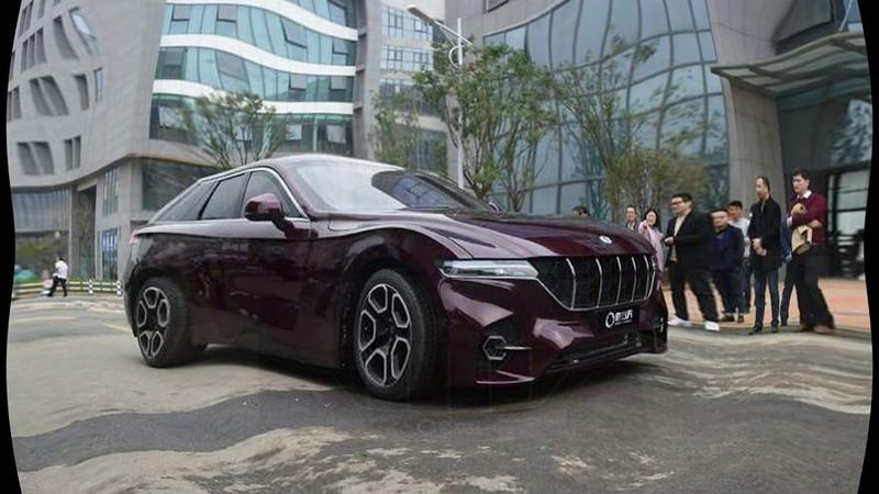 Китайцы разработали водородный супер автомобиль с запасом хода более 1000 км