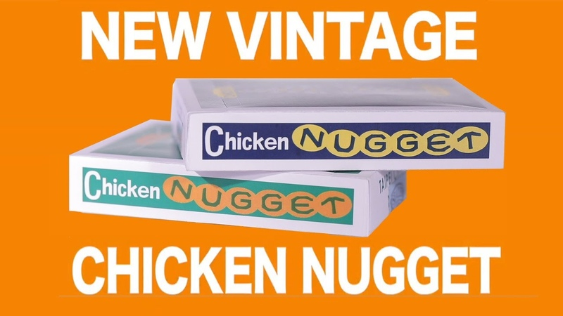 New Vintage Chicken Nugget Playing Cards by Hanson Chien - Trailer