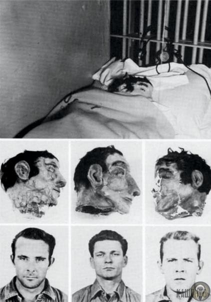 Это поддельные головы, использованные в Великом побеге Алькатраса 1962 года