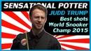 Best Shots Judd Trump Sensational Potter from 2015 World Snooker Championship