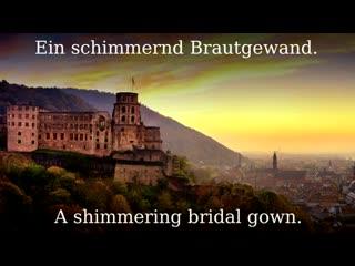Alt Heidelberg du feine German student song English translation