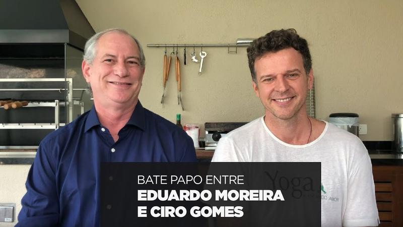 Bate papo entre Eduardo Moreira e Ciro Gomes
