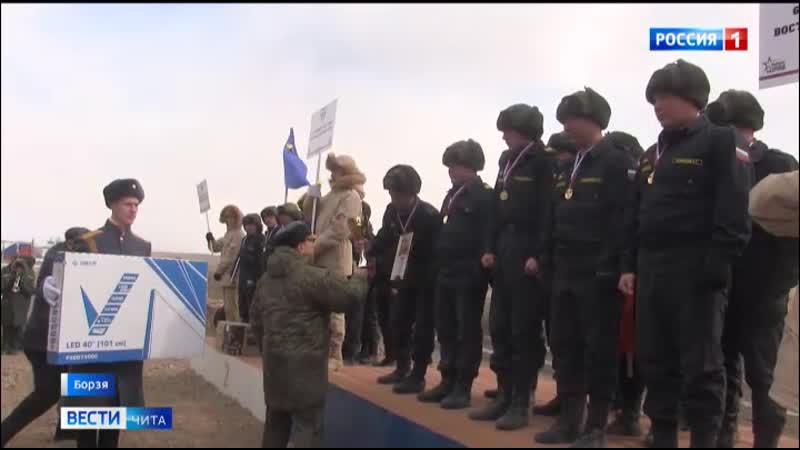 27 03 2020 Вести Чита Военнослужащие 29 й общевойсковой армии стали лучшими на окружном этапе танкового биатлона