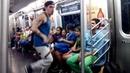 NYC Subway dance А Ленин такой молодой!