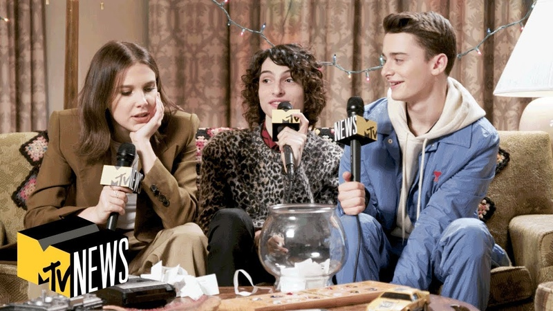 Millie Bobby Brown, Finn Wolfhard Noah Schnapp Answer 'Stranger Things 3' Questions