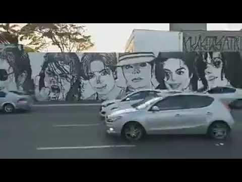 Michael Jackson on the wall!! Sao Paulo - Brazil 2019