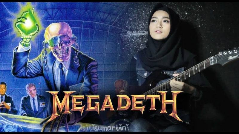 🎵 Megadeth Tornado of Souls Guitar Cover by Mel