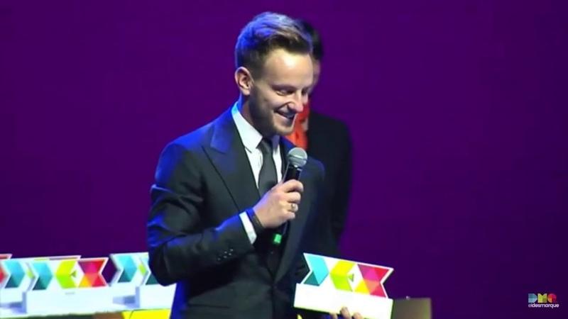 Rakitic Recibe el Premio Valores en los III Premios DEX