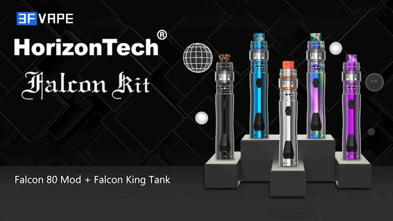 HorizonTech Falcon 80W VW Mod Falcon King Sub Ohm Tank Starter Kit