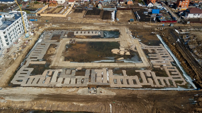 Отчет о ходе строительства апрель 2020 ЖК «Ожогино», изображение №10