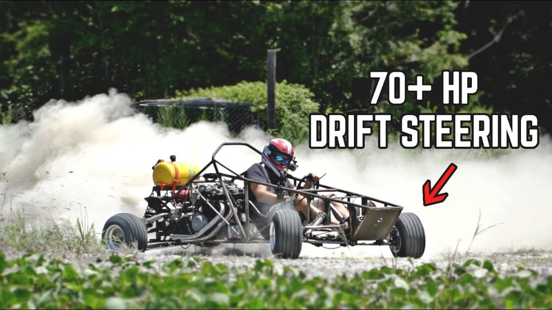 750cc Kart has FULL POWER The Fix was SO SIMPLE Drift Steering