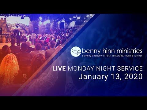 Benny Hinn LIVE Monday Night Service January 13 2020