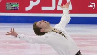 Морис Квителашвили / Moris Kvitelashvili - Чемпионат мира 2021, ПП (LRT Channel)