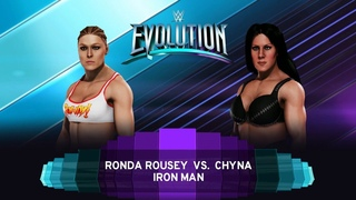 WWE2k20. Ronda Rousey (Iron Woman 20 Min)