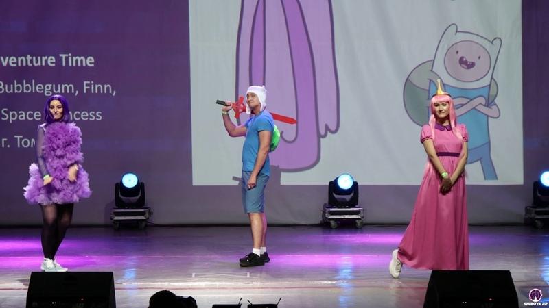 Время приключений Princess Bubblegum Finn Lumpy Space Princess Shibuya 22 2020