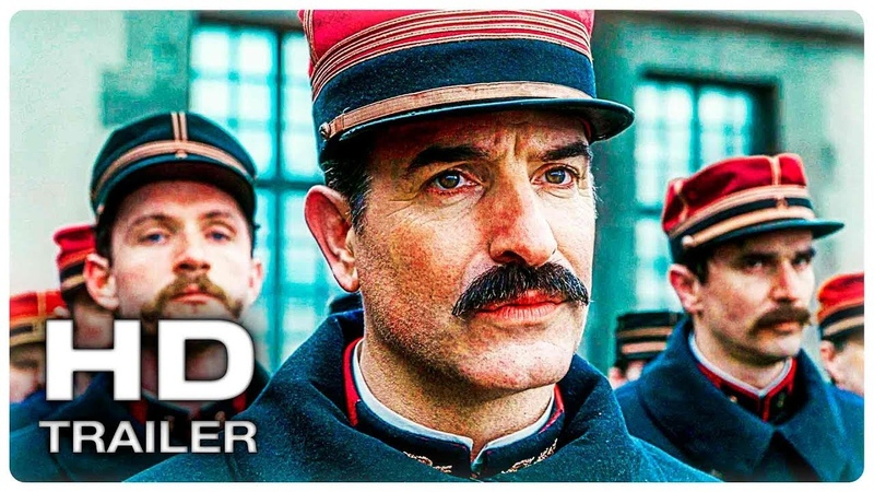 ОФИЦЕР И ШПИОН Русский Трейлер 1 (2020) Луи Гаррель, Жан Дюжарден Thriller Movie HD