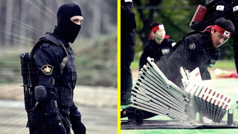 RUSSIA |VS| SOUTH KOREA | SPETSNAZ VS ROK UDT/SEAL | HAND TO HAND COMBAT