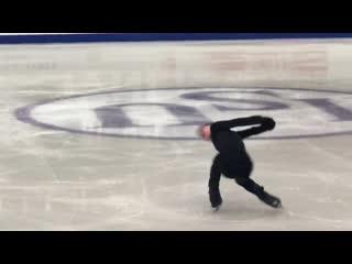 Тренироа даниил самсонов isu grand prix of figure skating final 2019