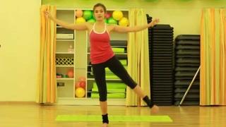 Сила, гибкость и баланс (упражнения для ног и ягодиц) / Вправи для сідниць і ніг