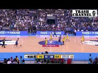 Баскетбол под бутиратом 2 против 5