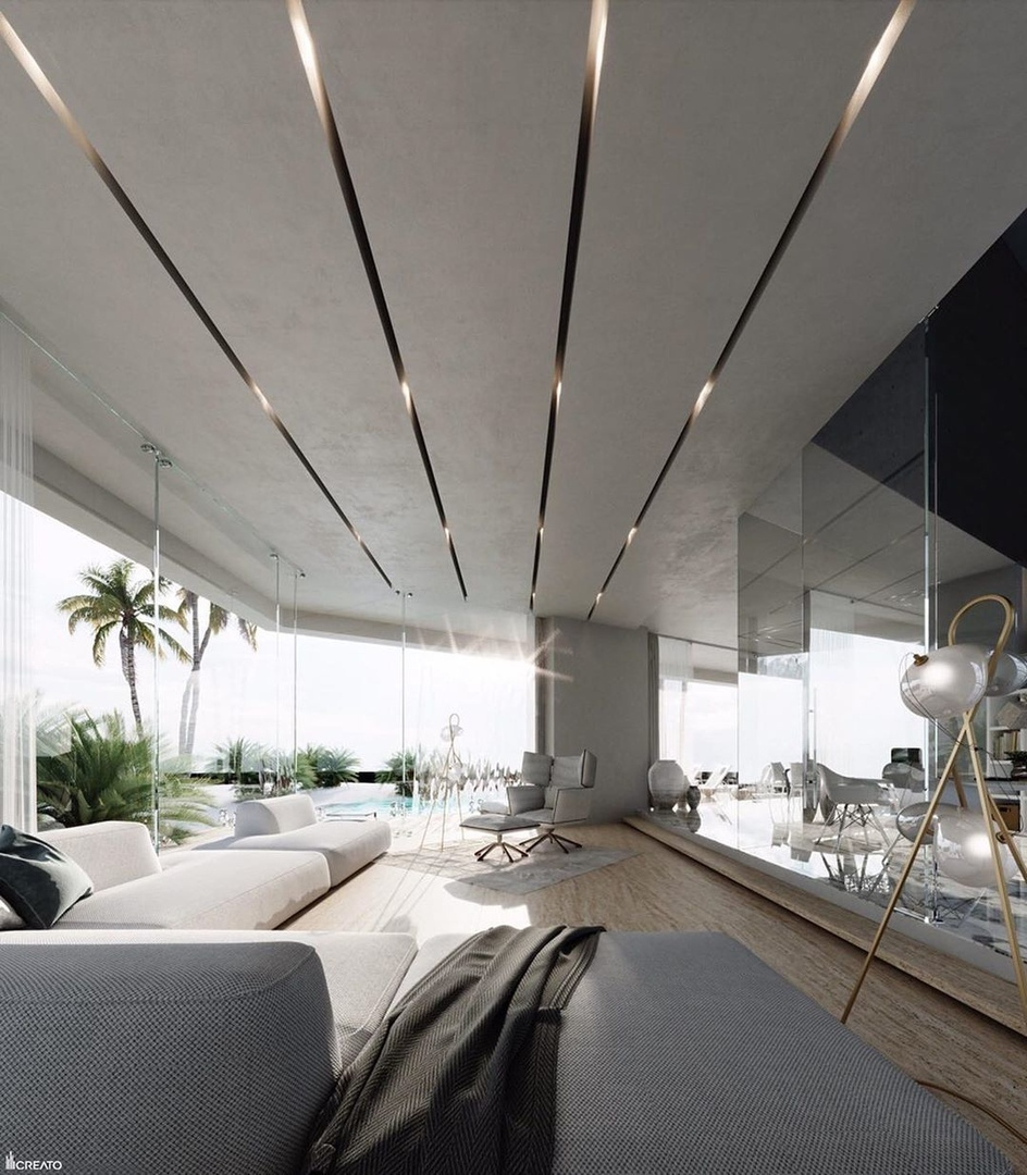 LaMer villa in  designed by Mexico-based architectural studio Creato Arquitectos