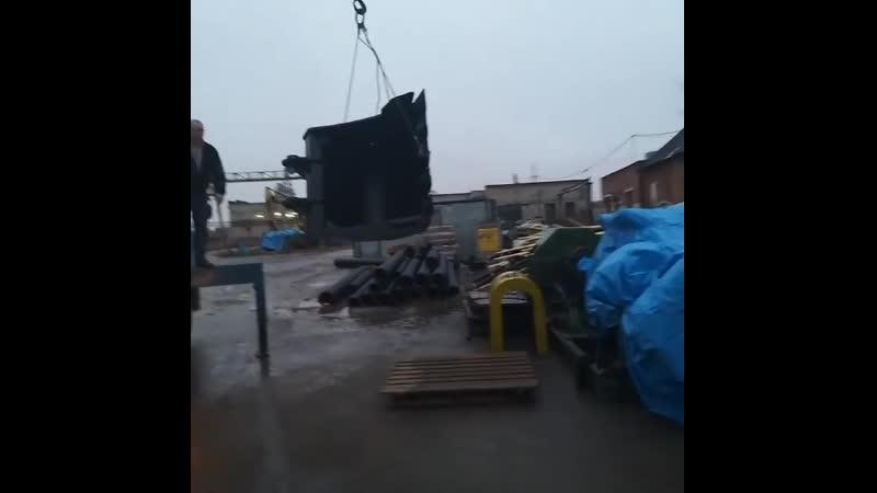 Отгрузка клиенту ковш усиленный на hyundai r220