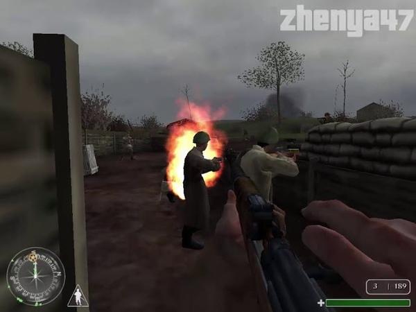Прохождение Call of Duty: United Offensive Миссия 9: Окопы