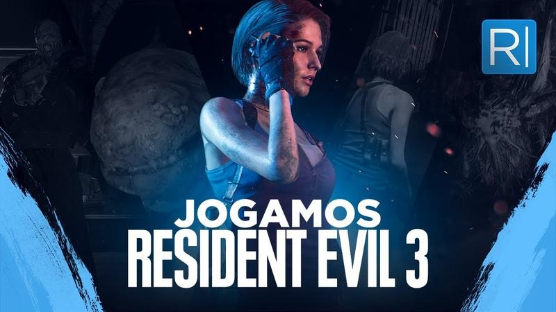Jogamos RESIDENT EVIL 3 Confira o gameplay