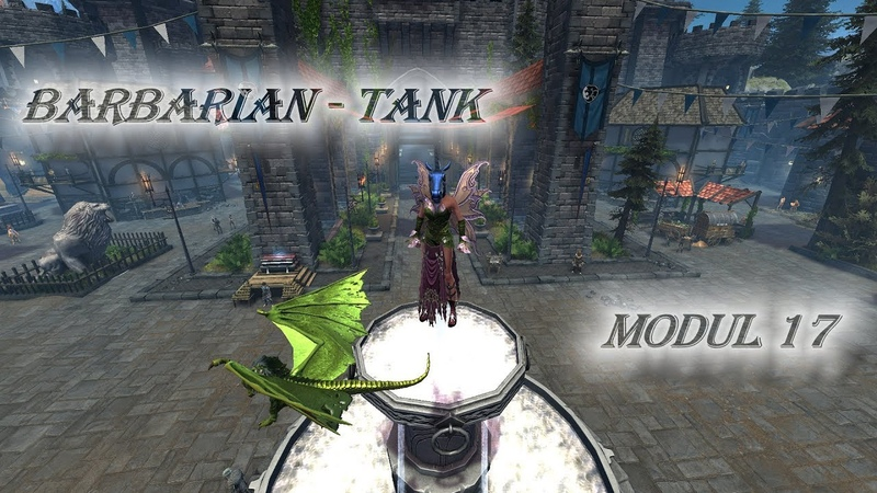 Neverwinter Mod 17 Barbarian Guide GWF Tank TOMM That's how Orkmork play PC Xbox PS4